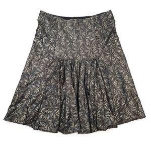 Diane Von Furstenberg Silk Skirt Size 10 skirt